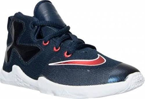 7d9a0608d87c Nike 808711-461 Lebron XIII Blue Red Basketball Shoes Toddler Kid Size 10C   Amazon.ca  Shoes   Handbags