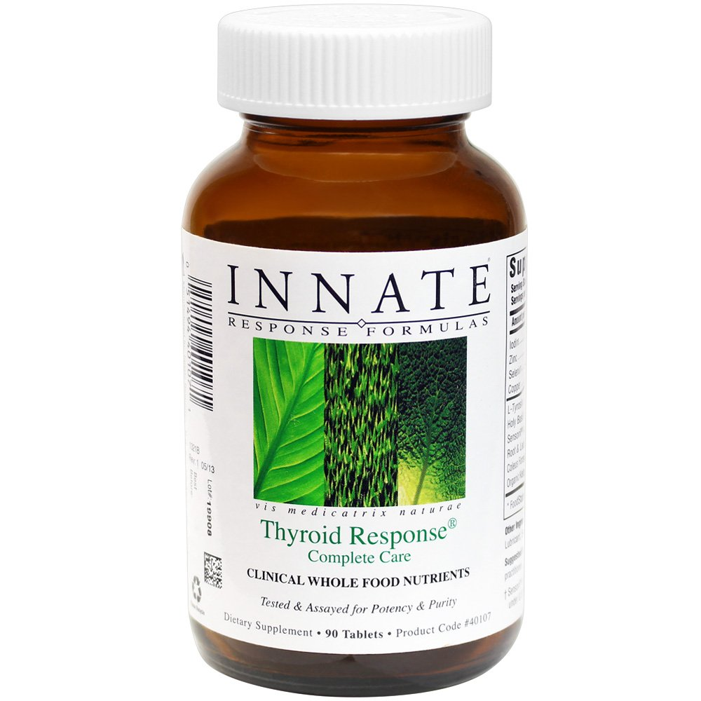 INNATE Response Formulas - Thyroid Response Complete Care, Supports Healthy Thyroid Function, 90 Tablets