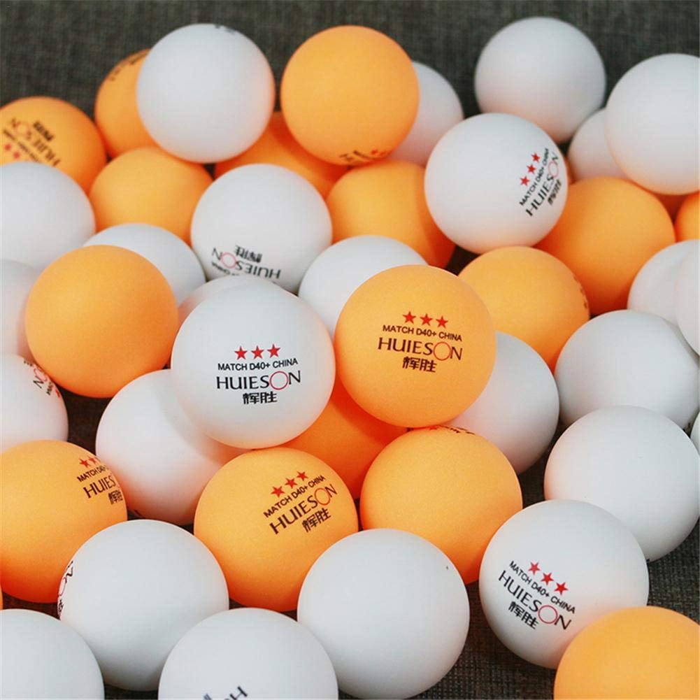 40mm 1.57in de diam/ètre 2.9g Balle de Tennis de Table pour lentra/înement de comp/étition Gereton 6pcs balles de Tennis de Table ping-Pong 3 /étoiles