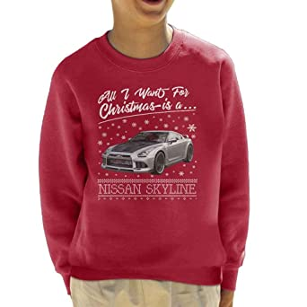 Coto7 All I Want For Christmas Is A Nissan Skyline Kids ...