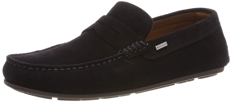 Tommy Hilfiger Classic Suede Penny Loafer, Mocasines para Hombre: Amazon.es: Zapatos y complementos