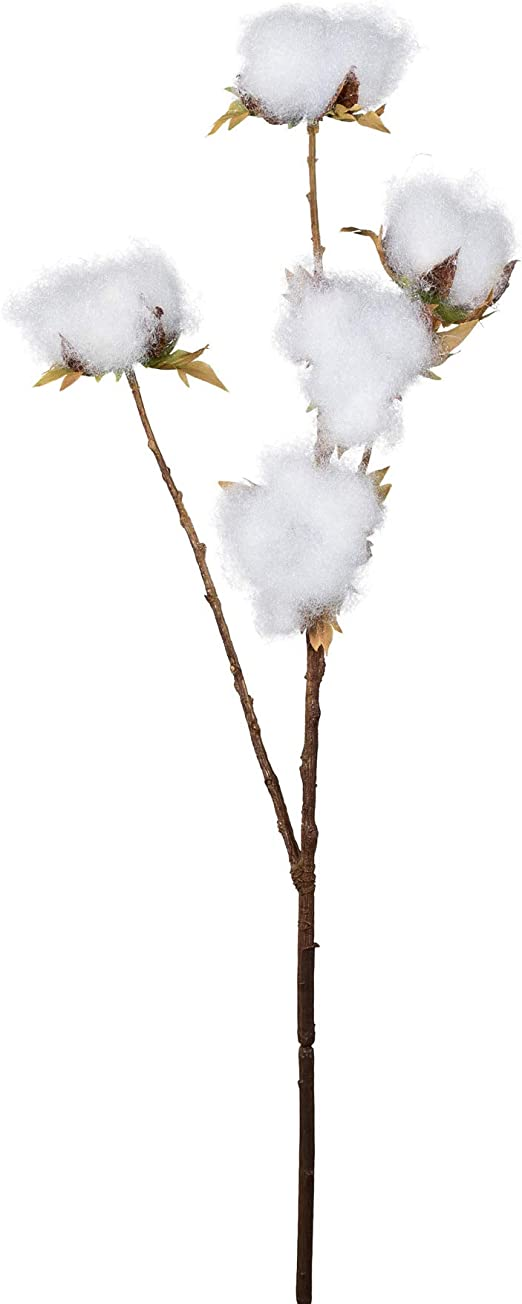 wohnfuehlidee Planta Artificial Rama de algodón, Juego de 3, Altura Aprox. 67 cm: Amazon.es: Juguetes y juegos