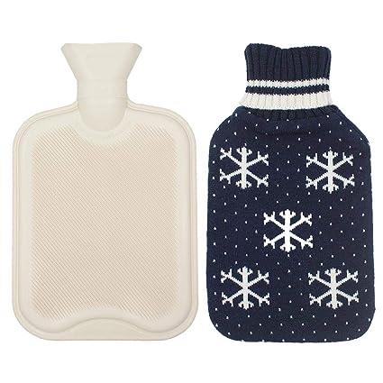 Autbye Botella de agua caliente Con cubierta de punto 96f05bb5f9c