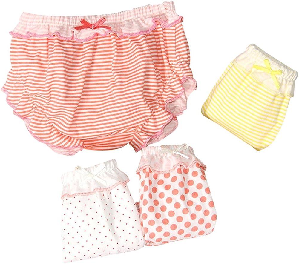 G-Kids - Juego de 4 calzoncillos de algodón para bebé y niña ...