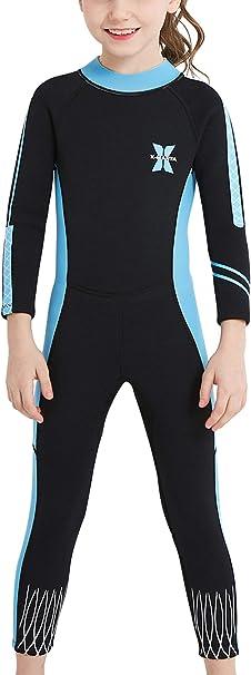 Sun Protection Sun Suit Orange M DIVE /& SAIL Boys Girls Long Sleeve Wetsuit Thermal Long Sleeve Swimsuit UPF 50