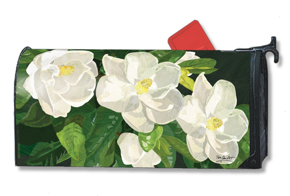 MailWraps Sweet Magnolias Mailbox Cover 01483