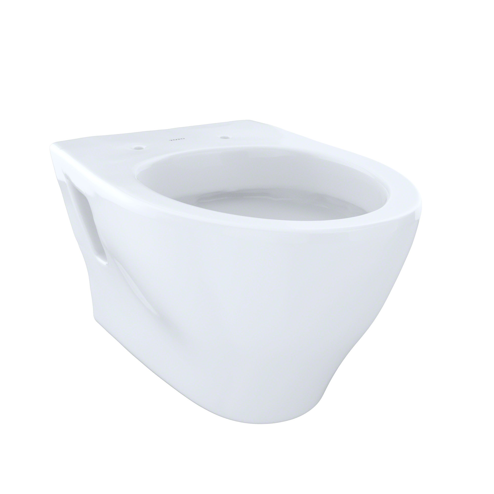 Toto CT418FGNo.01 Aquia Wall-Hung Dual-Flush Toilet, 1.6-GPF and 0.9-GPF Cotton - CT418FG#01 by TOTO