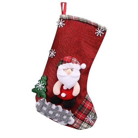 Weihnachtsstrumpf Weihnachtssocke Nikolausstrumpf Stiefel Bonbons Tüte Deko