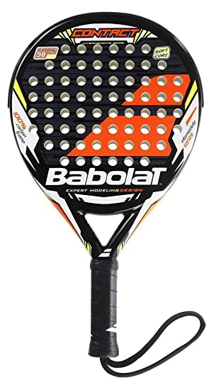 Pala de padel Babolat Contact 2015: Amazon.es: Deportes y ...
