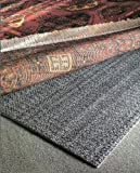 3'x5' Teebaud Non-Skid Reversible Rug Pad for Rugs on Carpet and Hard Floor Surfaces