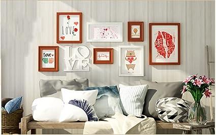 Glyyxk zhdc photo wall applique in legno massello combinazione