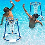 Swimline Tall-Boy Floating Basketball Swimming Pool Game, 2-Pack