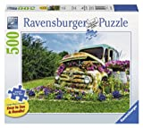 Ravensburger Flower Truck Large Format 500 Piece Jigsaw Puzzle for Adults - Every Piece is Unique, Softclick Technology Means Pieces Fit Together Perfectly