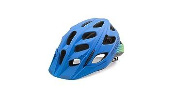 Giro – Casco Hex, Unisex, Helm Hex, Azul/Verde Lima,