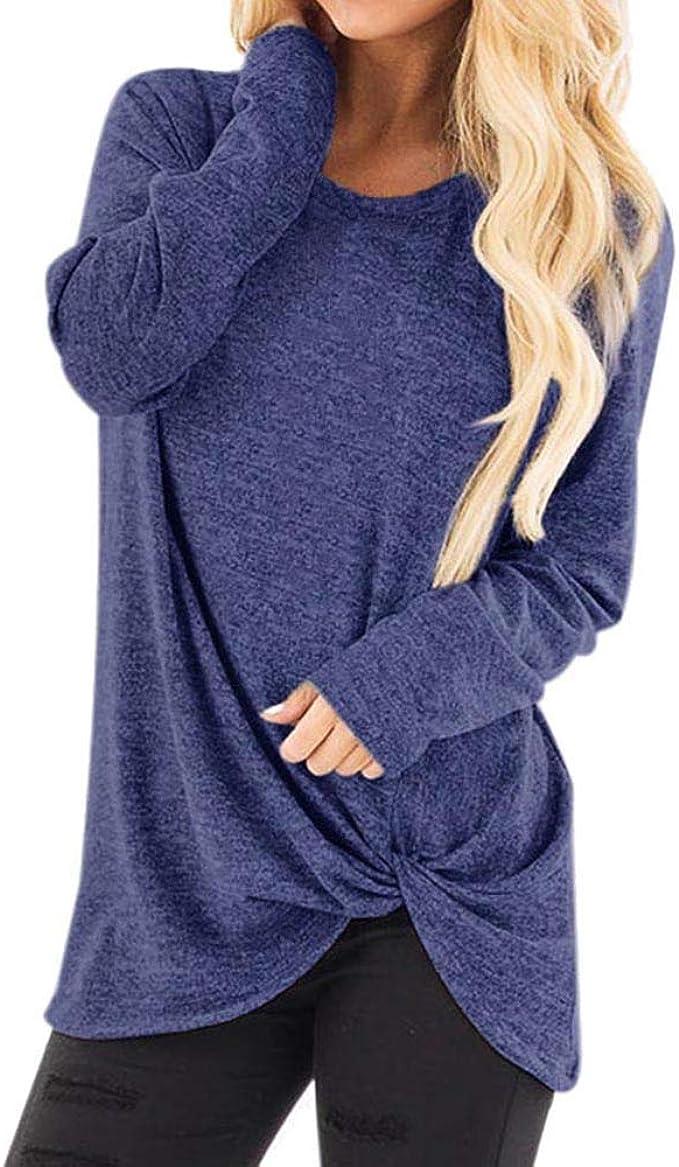 Maglione Pullover Camicia Lunga Felpa Manica Lunga Shirt Top 36 38 40 42