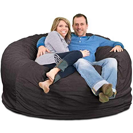 Groovy Ultimate Sack 6000 Bean Bag Chair Giant Foam Filled Furniture Machine Washable Covers Double Stitched Seams Durable Inner Liner And 100 Virgin Andrewgaddart Wooden Chair Designs For Living Room Andrewgaddartcom