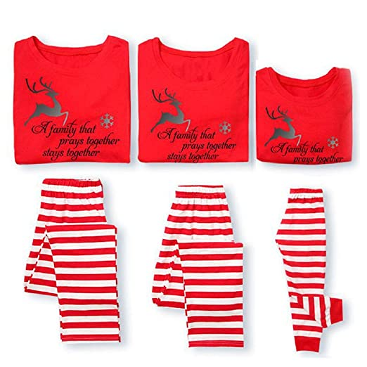 Matching Family Pjs Christmas Entire Family Jammies Cotton Pajamas Sets Best Kids Sleepwear Xmas A10