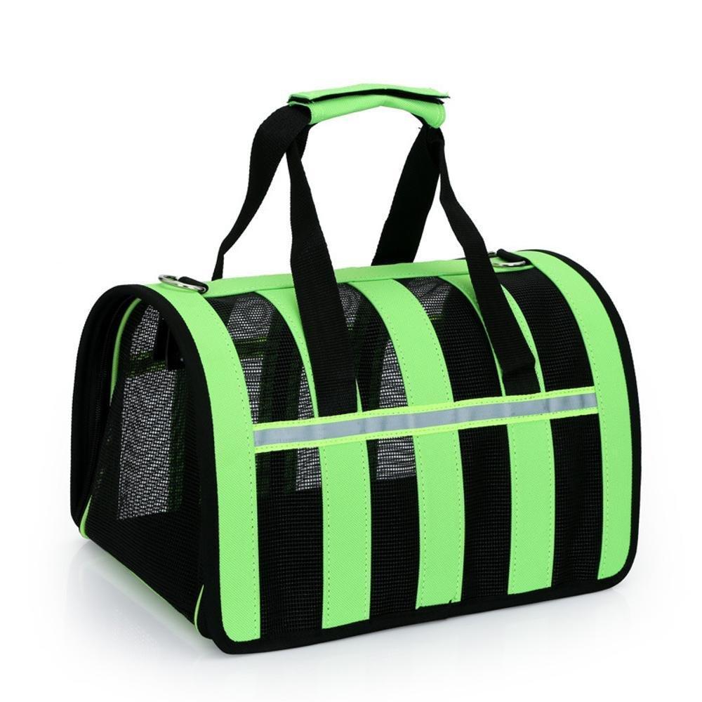 Dixinla Pet Carrier Backpack Pet Baotan Shoulder Diagonal cross hand breathable backpack cat dog out of pocket 36-55l