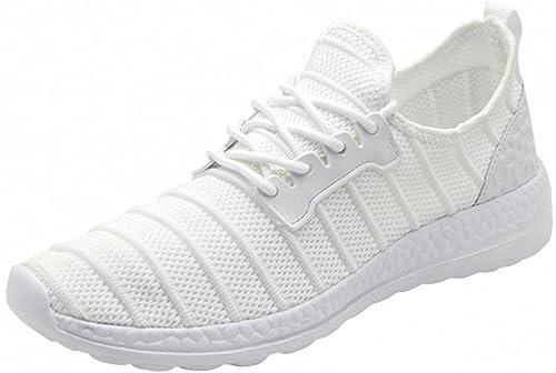 Weweya Zapatos para Correr EN Montaña y Asfalto Aire Libre y Deportes Zapatillas de Running Padel para Hombre Calzado de Walking para Mujer: Amazon.es: ...
