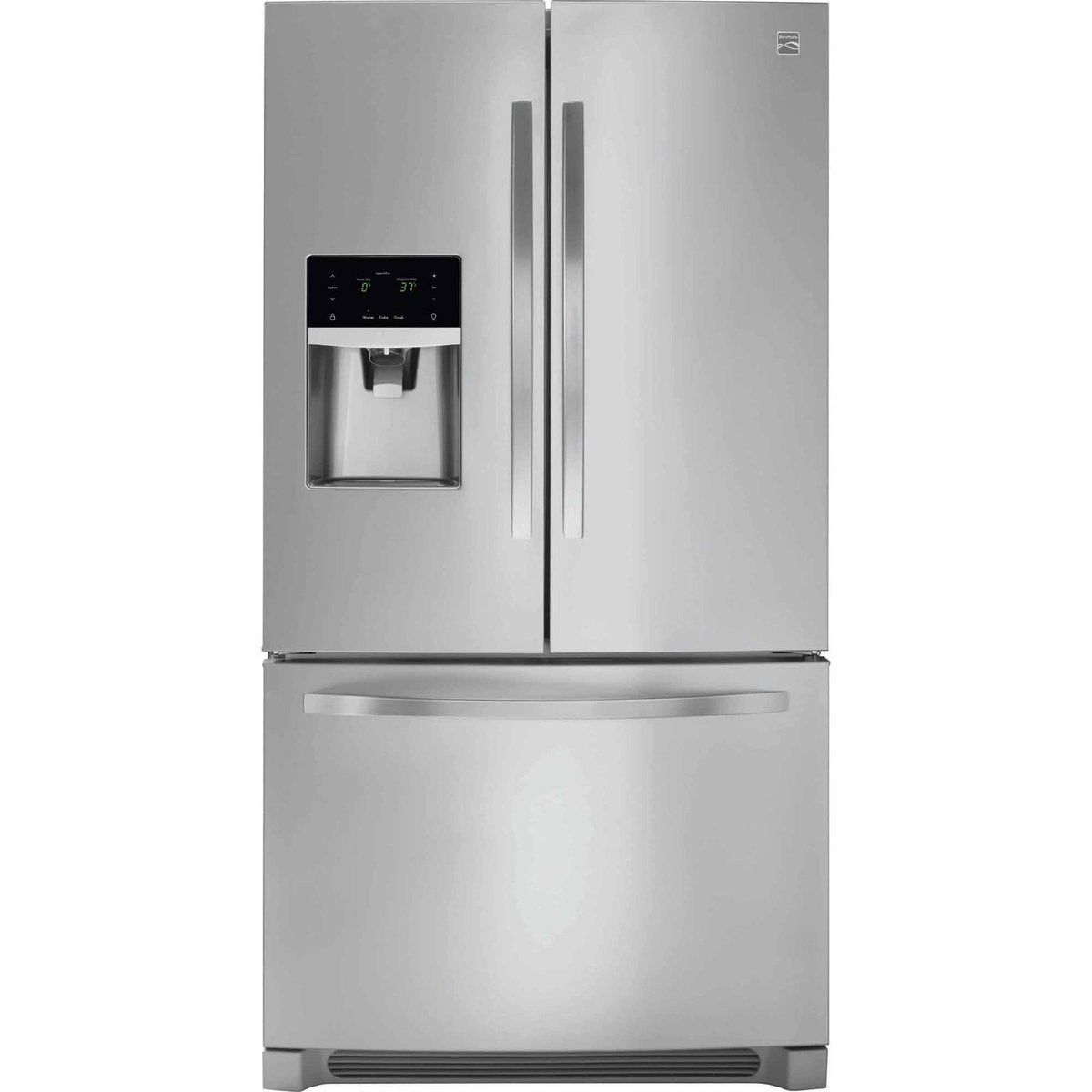 Kenmore 70443 21.9 cu. ft. French Door Refrigerator, Stainless Steel Sears Home Services - water filters