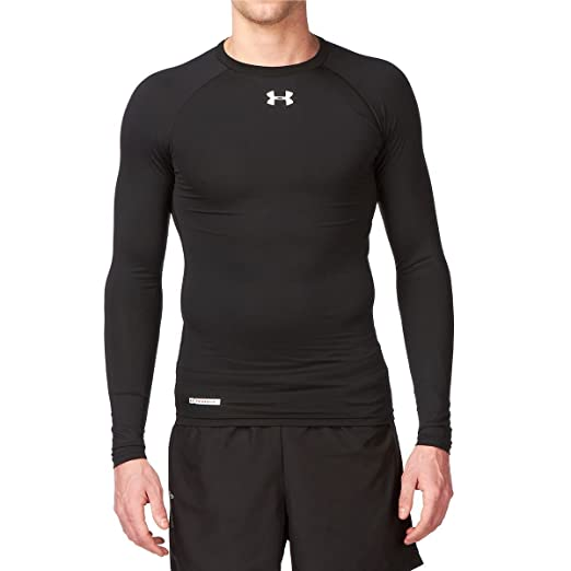 b152e6a55 Under Armour Heat Gear Sonic Compression Long Sleeve Top - Small - Black