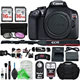 Canon EOS Rebel T6 Digital SLR Camera (Body Only) + Essential Silver Bundle