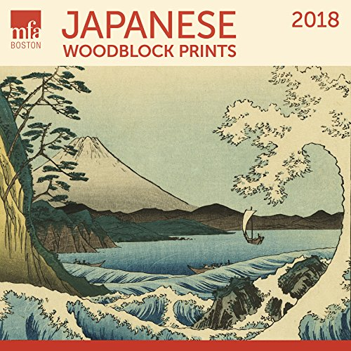Japanese Woodblocks MFA, Boston Wall Calendar 2018