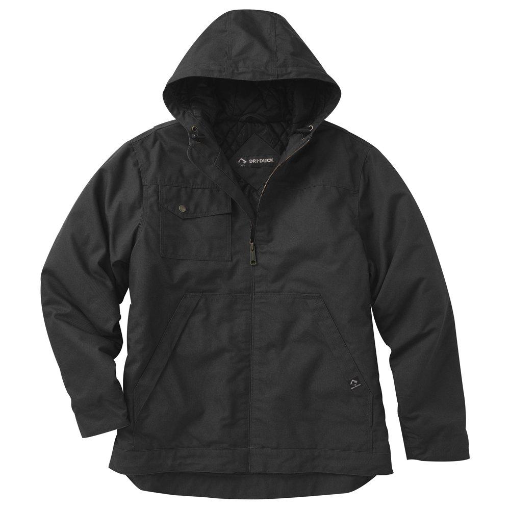 Dri-Duck Mens 5065 Yukon Hooded Water Resistant Work Jacket