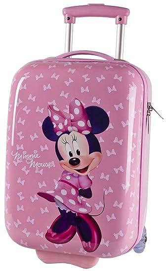Girls Boys ABS Hard Shell Wheeled Bag Suitcase Hand Luggage (Sugar ...