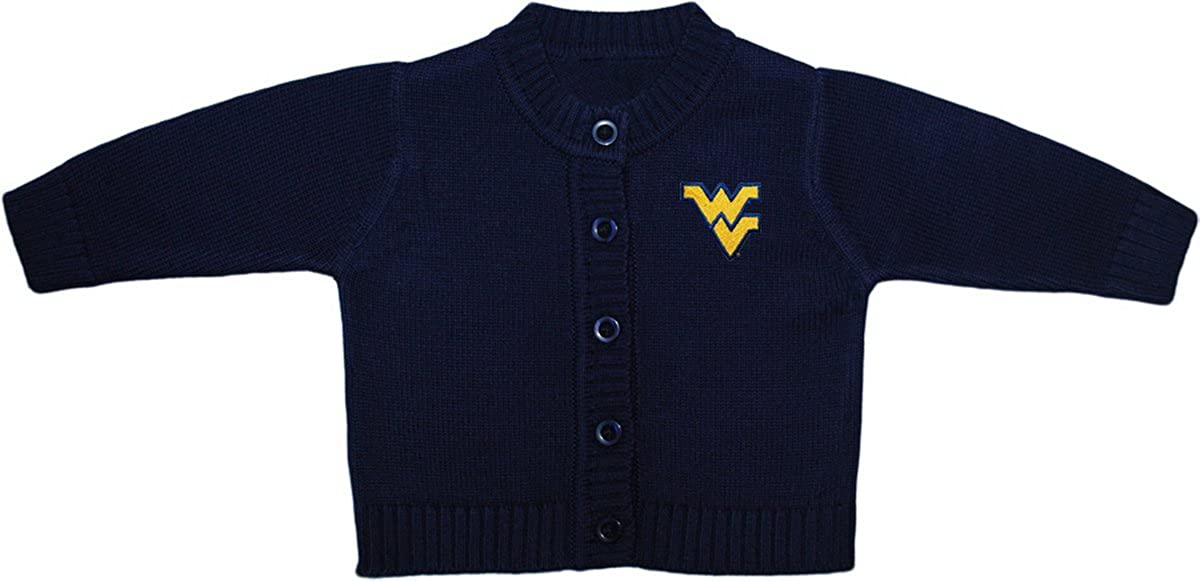 Creative Knitwear West Virginia University Baby and Toddler Cardigan Sweater