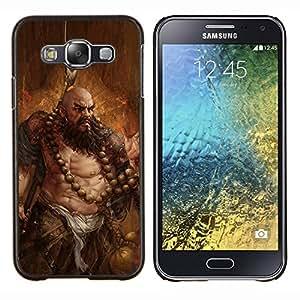 TECHCASE---Cubierta de la caja de protección para la piel dura ** Samsung Galaxy E5 E500 ** --ARTE BARBARIAN