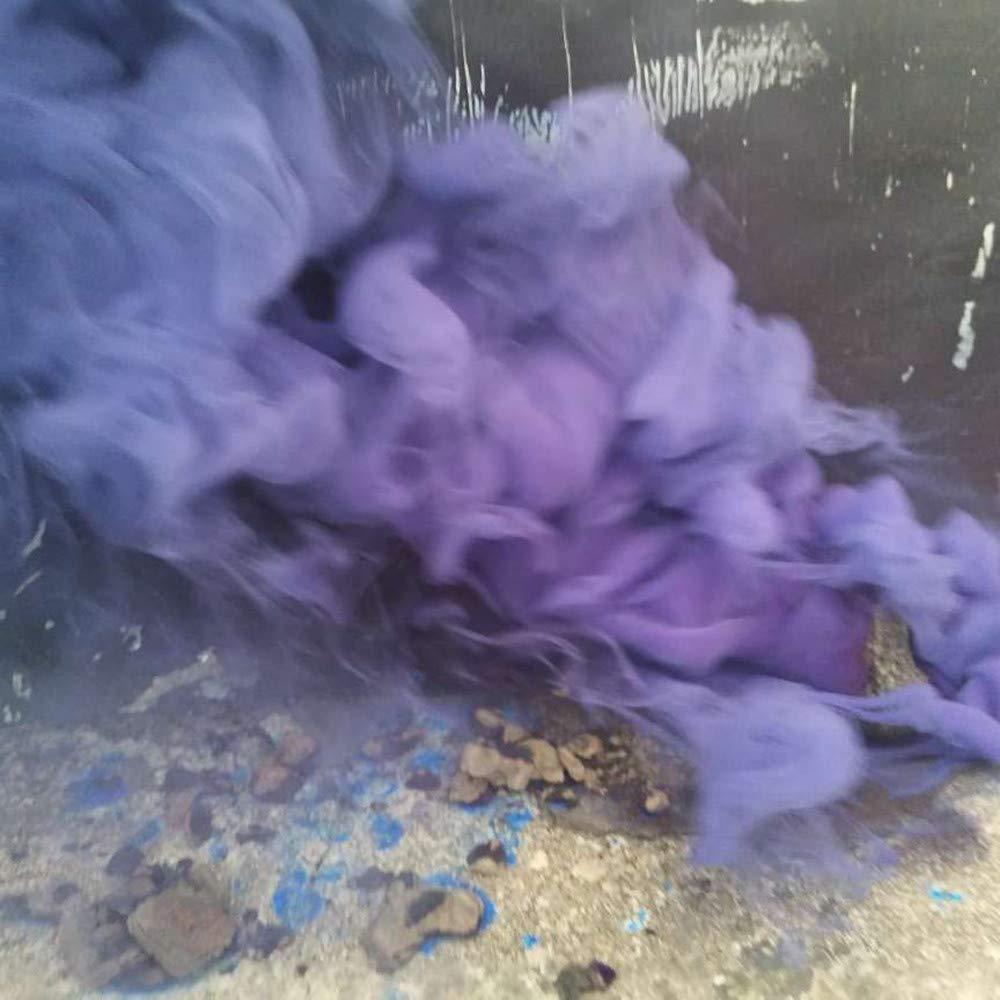 p/íldoras de pastel de humo para fotograf/ía juguete interactivo Crazy Fun Purple Blue Green1 Talla:talla /única YIHANK Juguete educativo colorido