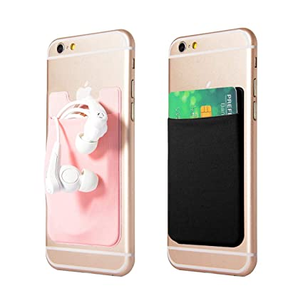 check out 6ab44 496f5 Amazon.com: GreatforU Universal Cell Phone Card Back Wallet Case ...