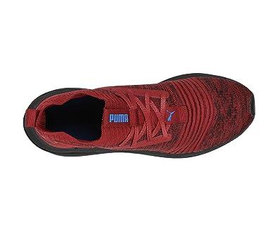 innovative design 57aad 85df5 Puma Men's Ignite Limitless SR Evoknit Pomegranate Running Shoes