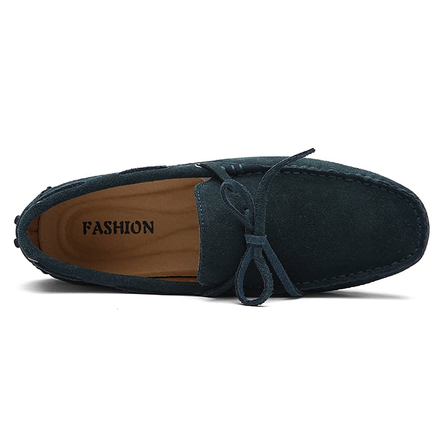 Jamron Men's Soft Suede Driving Loafers Shoes Handmade Moccasin Slippers  Big Size: Amazon.co.uk: Shoes & Bags