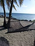 Caribbean Rope Hammock - 55 Inch - Soft-Spun Polyester
