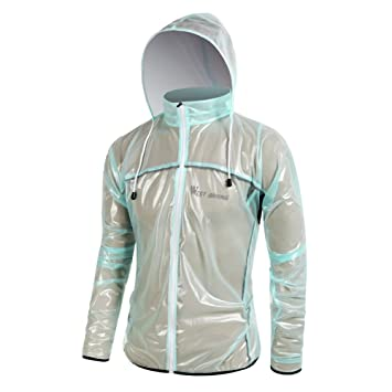 oeste biking con capucha unisex impermeables exterior Ciclismo Chubasquero Impermeable Bicicletas chaqueta impermeable para mujer, unisex hombre mujer, ...