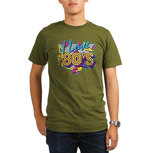 e516628f Amazon.com: CafePress - I Love The 80S - Organic Men's T-Shirt, Soft ...