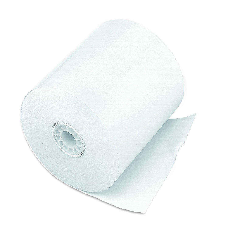 PM Company Cash Register Paper Rolls, 3'' x 150', 50 Rolls per Carton (07702)