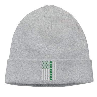 Adult Vintage Irish American Flag Soft Beanie Hat at Amazon Men s ... 910740399f1