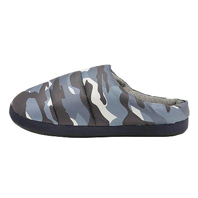 Dunlop - Zapatillas de estar por casa de Material Sintético para hombre 41 EU: Amazon.es: Zapatos y complementos
