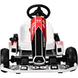 Electric GoKart,Outdoor Race Pedal Go Karting Car for Kids and Adults, Adjustable Length and Height, Ride On Toys,Drifting an