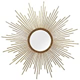 Stratton Home Decor S01029 Andrea Wall Mirror