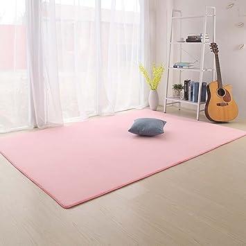 Amazon.de: Creative Light-Teppich Teppich Volltonfarbe Rechteck Anti ...