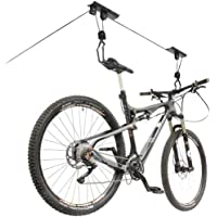 Bicycle Lifting Pulley Bike Storage Hoist Rack Boat Holder Ceiling Hook Garage