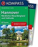 Hannover - Nördliches Weserbergland und Südheide: Wanderführer mit Extra-Tourenkarte 1:100.000, 60 Touren, GPX-Daten zum Download (KOMPASS-Wanderführer, Band 5100)