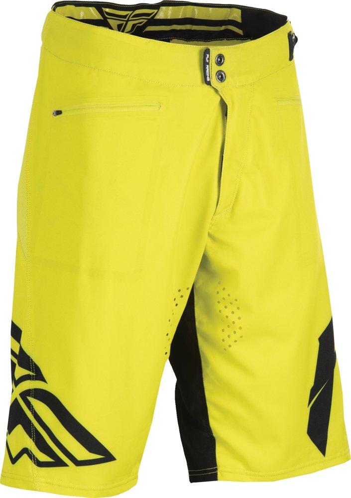 Fly Racing Unisex-Adult Radium Shorts Lime//Black Size 28 353-24328