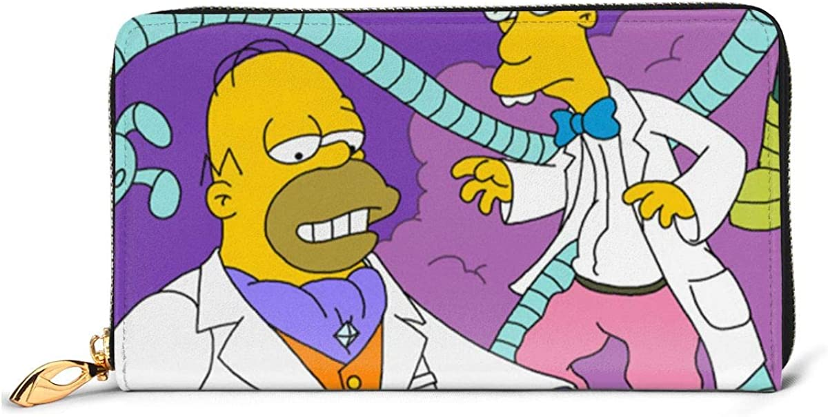 Simpsons Stylish And Personal Easy To Carry Leather Wallet The