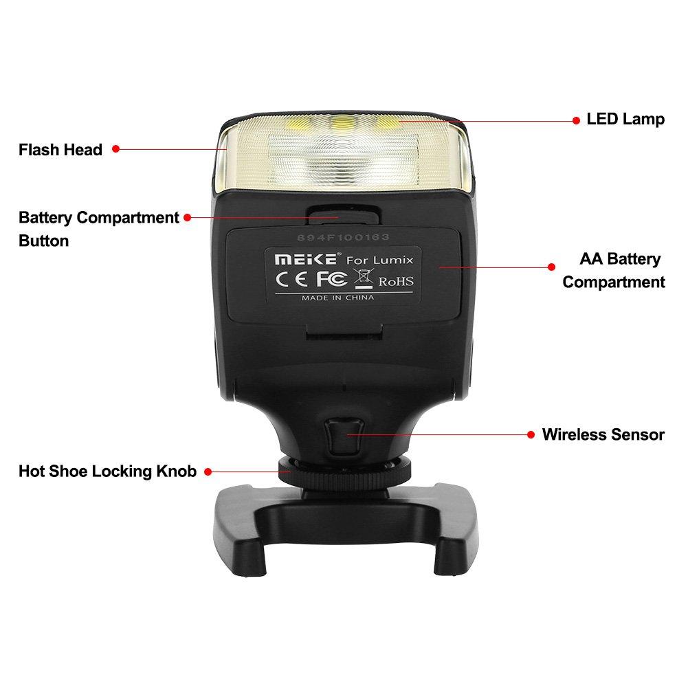 Flash de la Cámara,Acouto Meike MK320-P Portátil Mini Speedlite ...