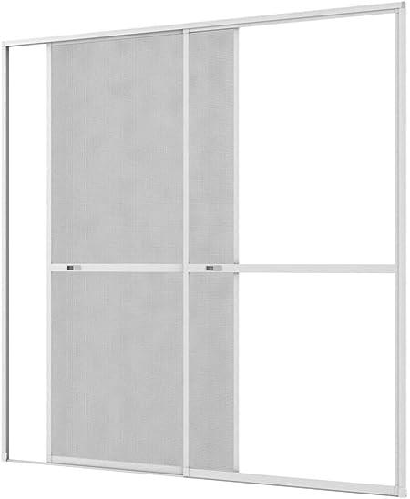 Culex 101340107-VH - Mosquitera para puerta corredera (240 x 240 cm), color gris: Amazon.es: Bricolaje y herramientas